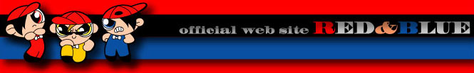 official web site RED & BLUE|the rbys